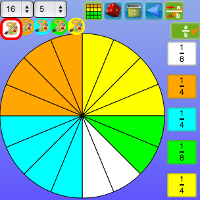 percentage fraction decimals grid screenshot